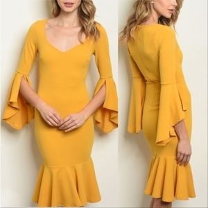 YALENA Stunning Bodycon dress